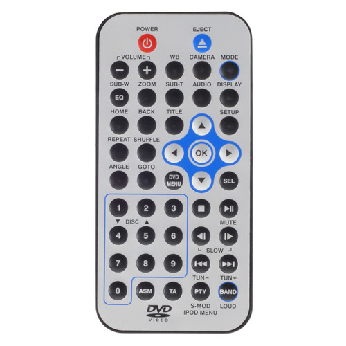 Magnadyne M1-LCD-CCR | Replacement Remote Control for M1-LCD - Front View