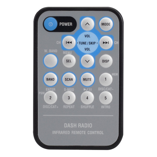 Magnadyne M9900-CCR | Replacement Remote Control for M9900CDS - Front View