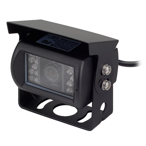 MOBILEVISION C128 | Waterproof Rear View Backup Color CCD Camera - 3/4 View