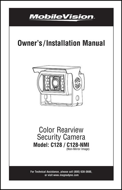 MAGNADYNE C128 | User Manual