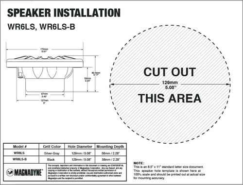 """Aquavibe WR6LS 