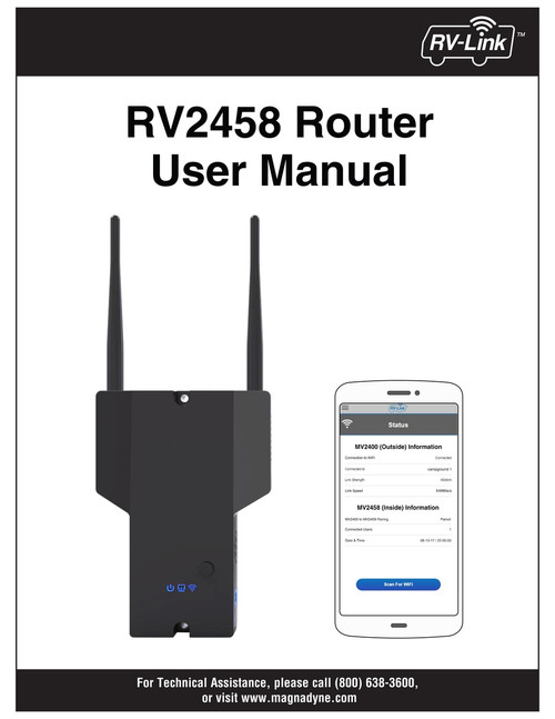 RV2458 Router User Manual