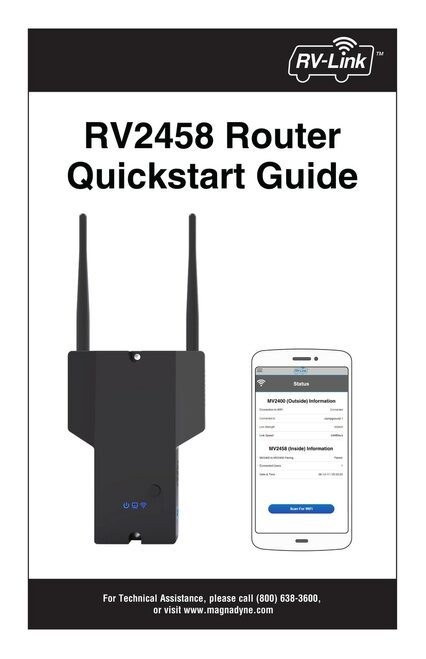 RV-Link RV2458 | Quickstart Guide