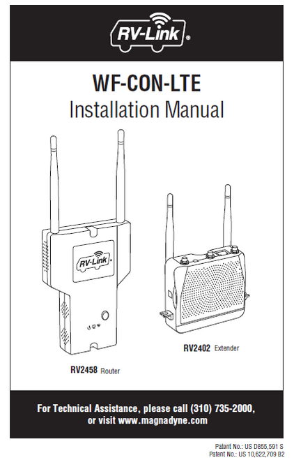 WF-CON-LTE Installation Manual