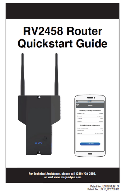 RV2458 Router Quickstart Guide