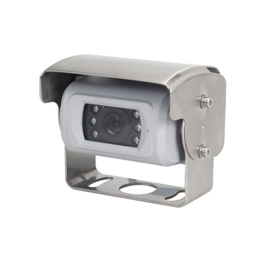 MobileVision C160HL | Heated Color CMOS Rear View Camera - 3/4 View