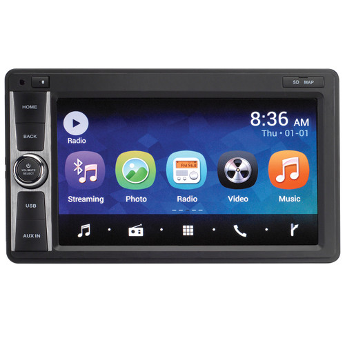 Magnadyne | M9 / M9-NAV Android 6.0 Multi-Media Receiver with DVD, Bluetooth and Wi-Fi Internet Capability