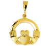 Yellow Gold Claddagh Pendant