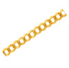 Gold Chains and Necklaces - Cuban Gold Chain 0.8 mm