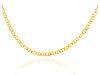 Gold Chains and Necklaces - FlatMariner Gold Chain 0.6 mm