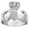 White Gold Claddagh Classic Ring from CladdaghGold.com - image