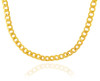 Gold Chains and Necklaces - Hollow Cuban 10K Gold Chain 4.73 mm