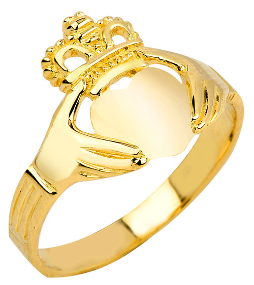 Claddagh Ring Gold Classic