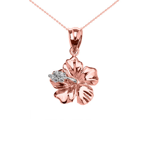 IIUUGG Romantic Crystals Rose Hollow Cover Magnify Glass Pendant Necklace Gold Color Gift