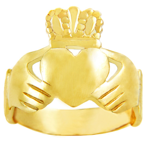 Gold Claddagh Classic Ring
