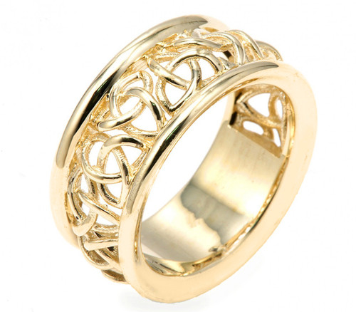 Celtic Knot Wedding Bands.14k Celtic Knot Wedding Band