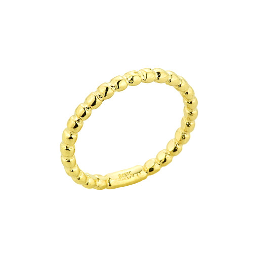 14k Gold Chain Link Toe Ring Claddagh Gold TR680