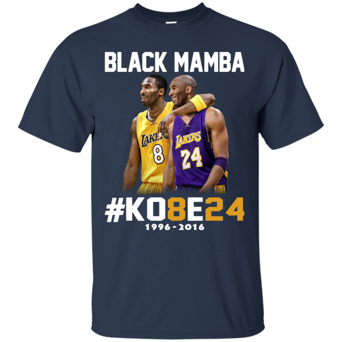 Wang Gang Kobe Bryant The Black Mamba T-Shirt Men//Women