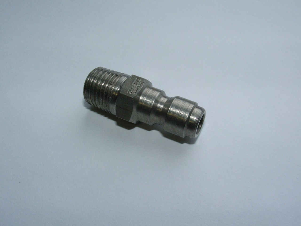 """Stainless Steel 1/4"""" Quick Connect Nipple"""
