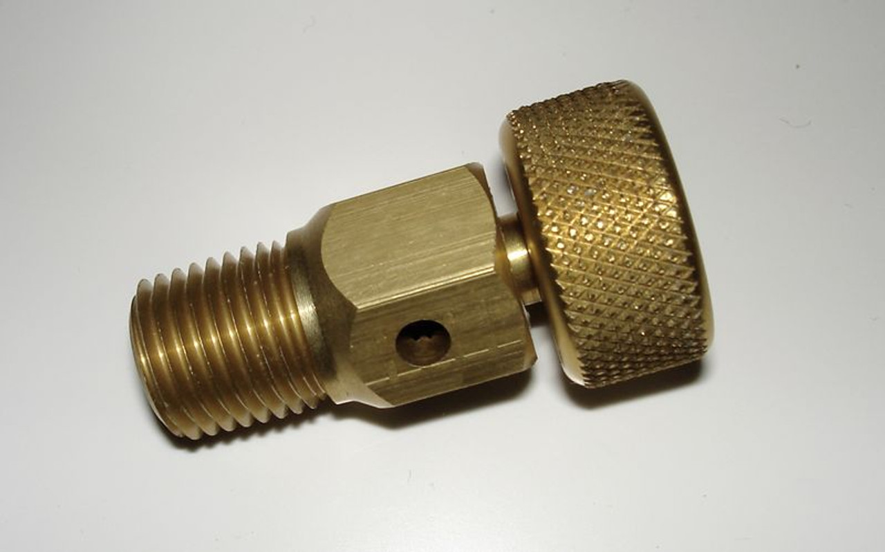 Hand Operated Separator Drain or Bleed Valve