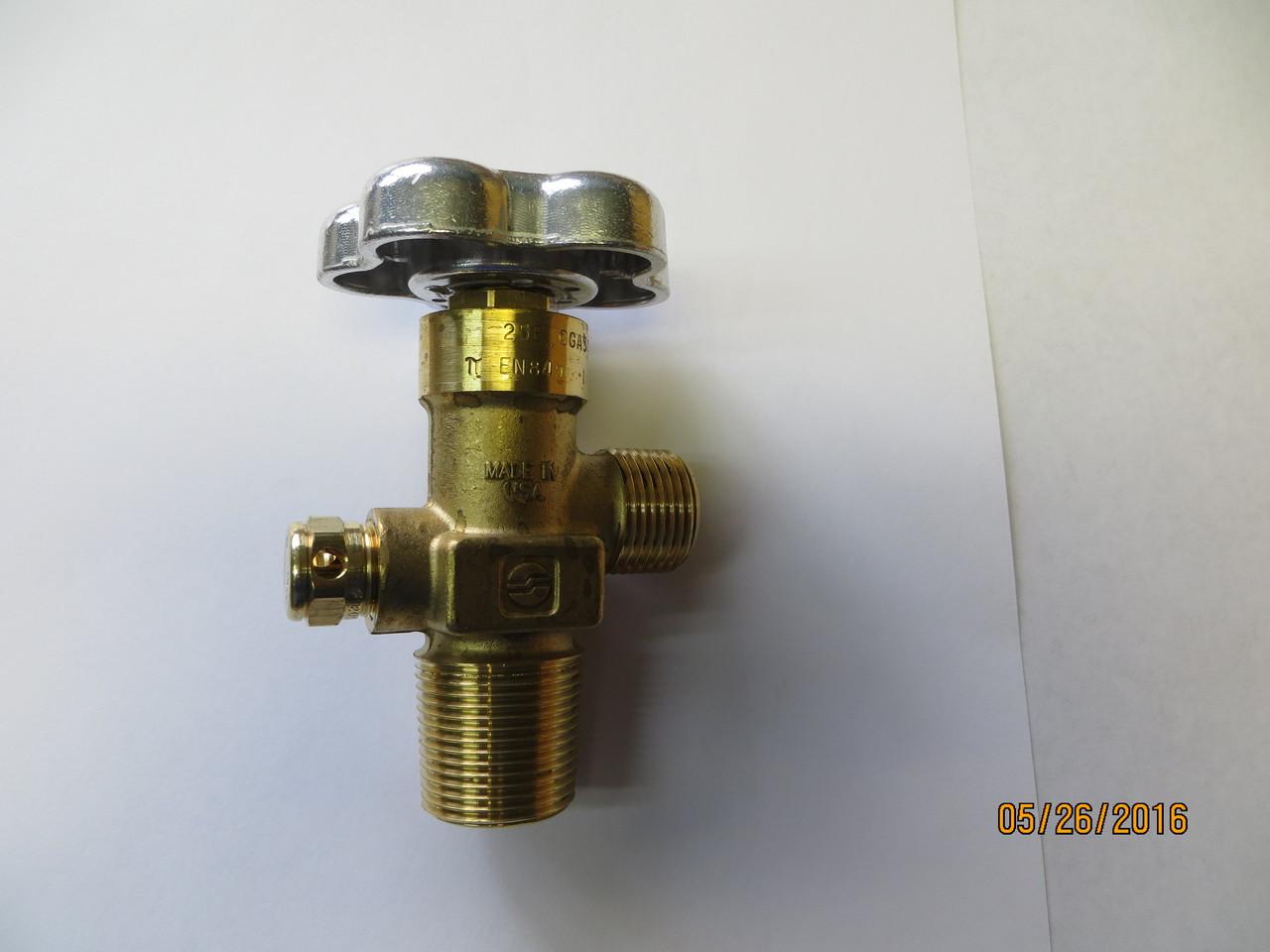 CGA 540 CYLINDER VALVE