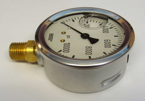 10,000 Stem Mount Gauge
