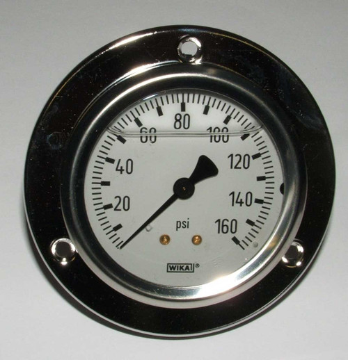 160 PSI Panel Mount Gauge