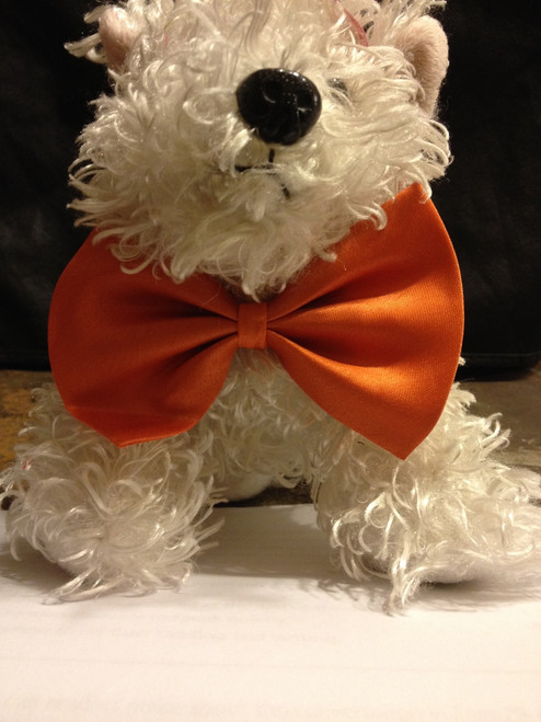 GK Pet bow tie Orange