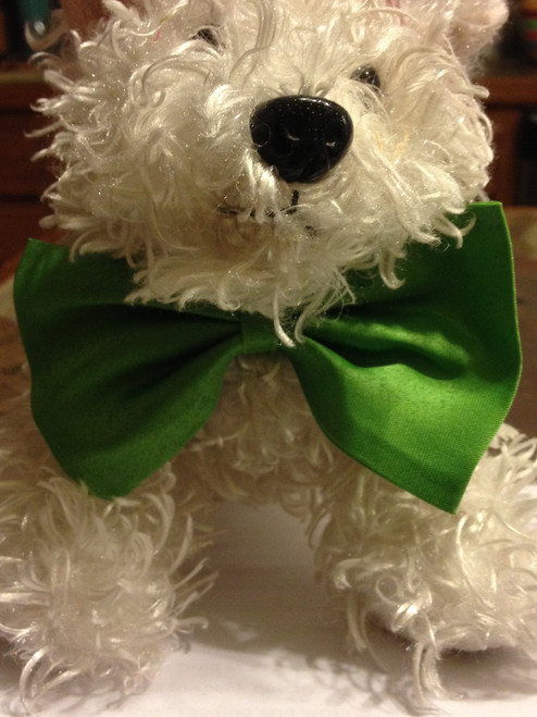 GK Pet Green bow tie