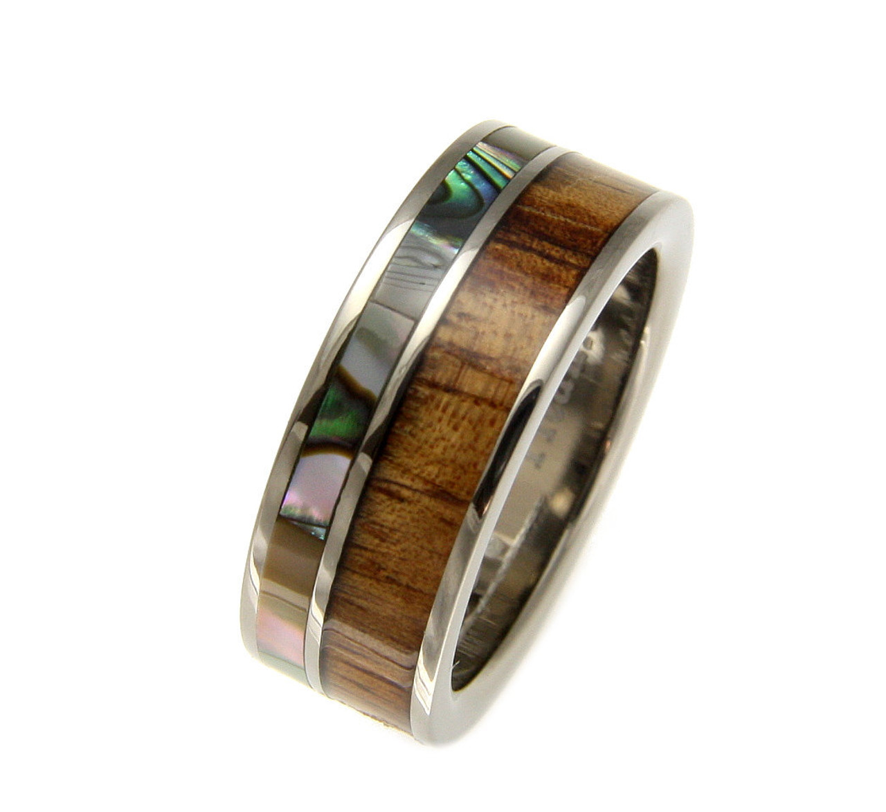 Faithful Titanium 14k Yellow Inlay 8 Mm Brushed Wedding Band Selected Material Engagement & Wedding Bridal & Wedding Party Jewelry