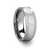 Stanford Hammered Finish Tungsten Wedding Band