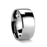 Austin Domed Tungsten Wedding Band