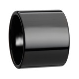 Axwell Black Flat Tungsten Wedding Band