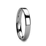 Caledonia Flat Cobalt Wedding Band