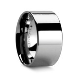 Charleston Flat Tungsten Wedding Band