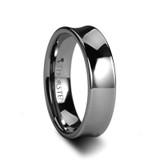 Chelsea Tungsten Concave Wedding Band
