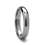 Domina Domed Tungsten Wedding Band