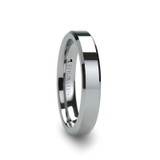 Roma Tungsten Wedding Band