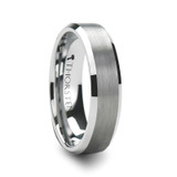 Sheffield Brushed Tungsten Wedding Band