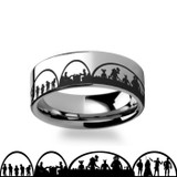 Star Wars Men's Tungsten Wedding Band