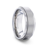 Rebellion Spinner Titanium Wedding Band from Little King Jewelry