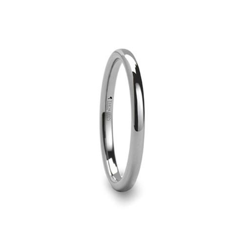 Manuel Domed Tungsten Carbide Wedding Band