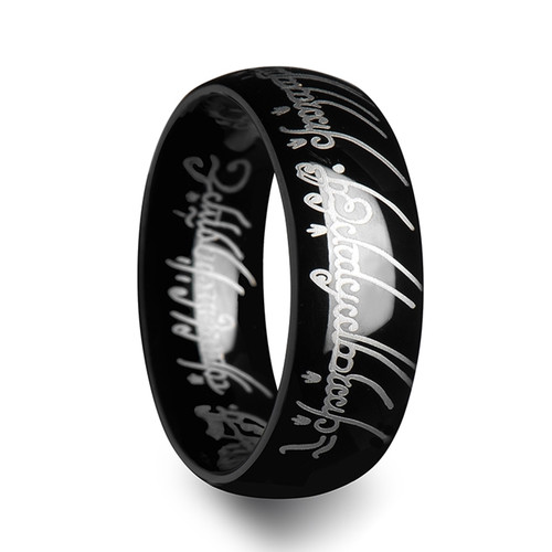 The Lord of the Rings Black Tungsten The One Ring