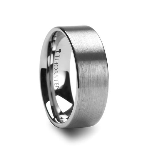 Benedict Brush Tungsten Carbide Wedding Band