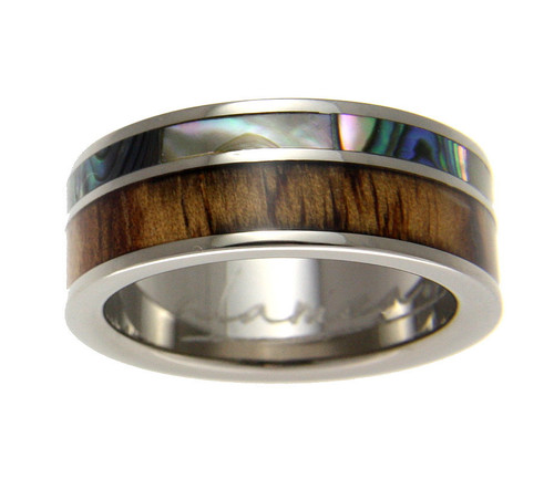 Faithful Titanium 14k Yellow Inlay 8 Mm Brushed Wedding Band Selected Material Bridal & Wedding Party Jewelry Engagement & Wedding