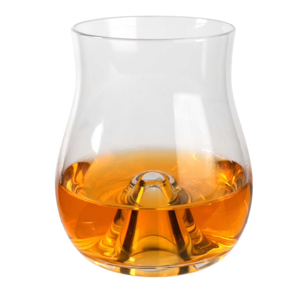 Whiskey Swirling Glass