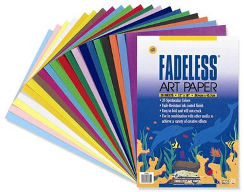 Fadeless Art Paper 12x18in.