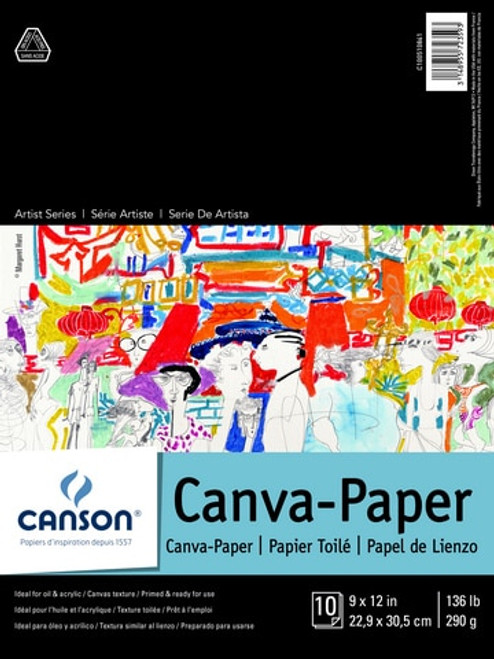Canson Canva Paper 10 sheets
