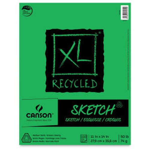 "Canson XL Recycled Sketch Pad - 11""x14"""