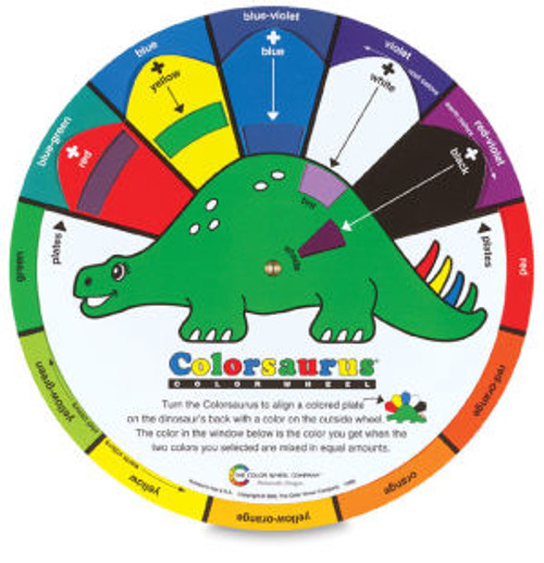 Colorasaurus Color Wheel for Kids
